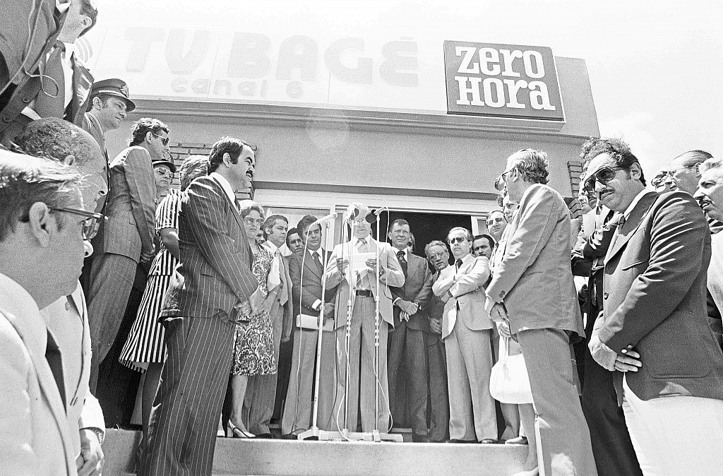 1977 - TV Bagé (now RBS TV Bagé) is inaugurated.