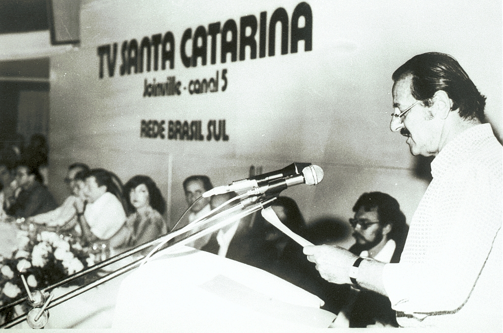 1979 -TV Catarinense (now RBS TV Florianópolis) is inaugurated.