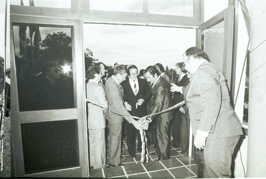 1979 - TV Santa Catarina (now RBS TV Joinville) is inaugurated.