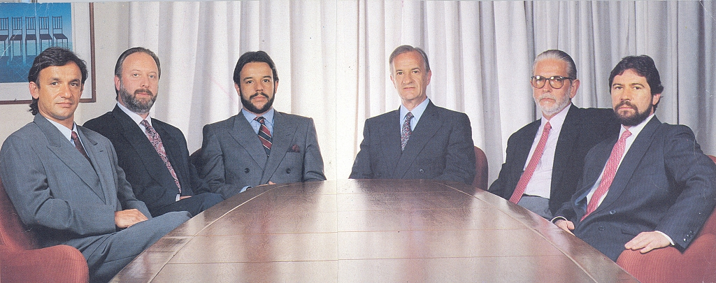 1986 - Jayme Sirotsky takes place as president of Grupo RBS.