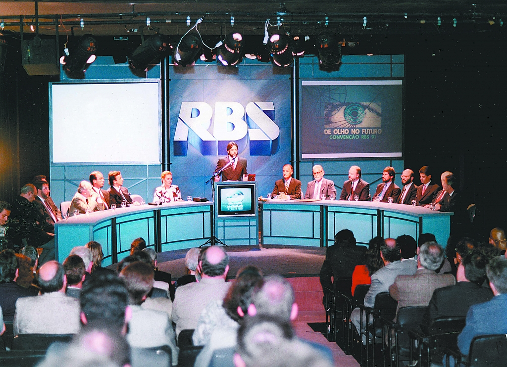 1991 - Nelson Sirotsky takes place as RBS's president.