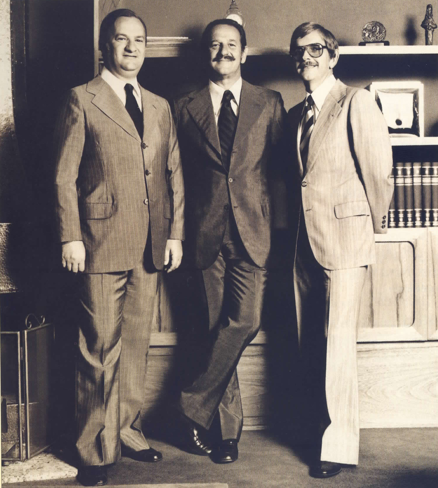 1968 - Fernando Ernesto Corrêa (RS) becomes Maurício's (C) and Jayme's (L) partner.