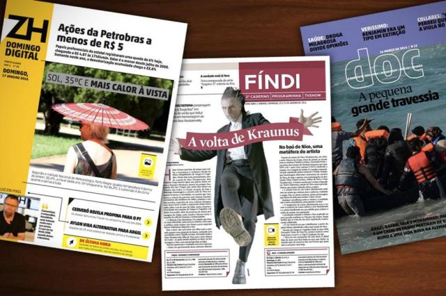 2016 - Grupo RBS releases a weekend edition and new digital platforms