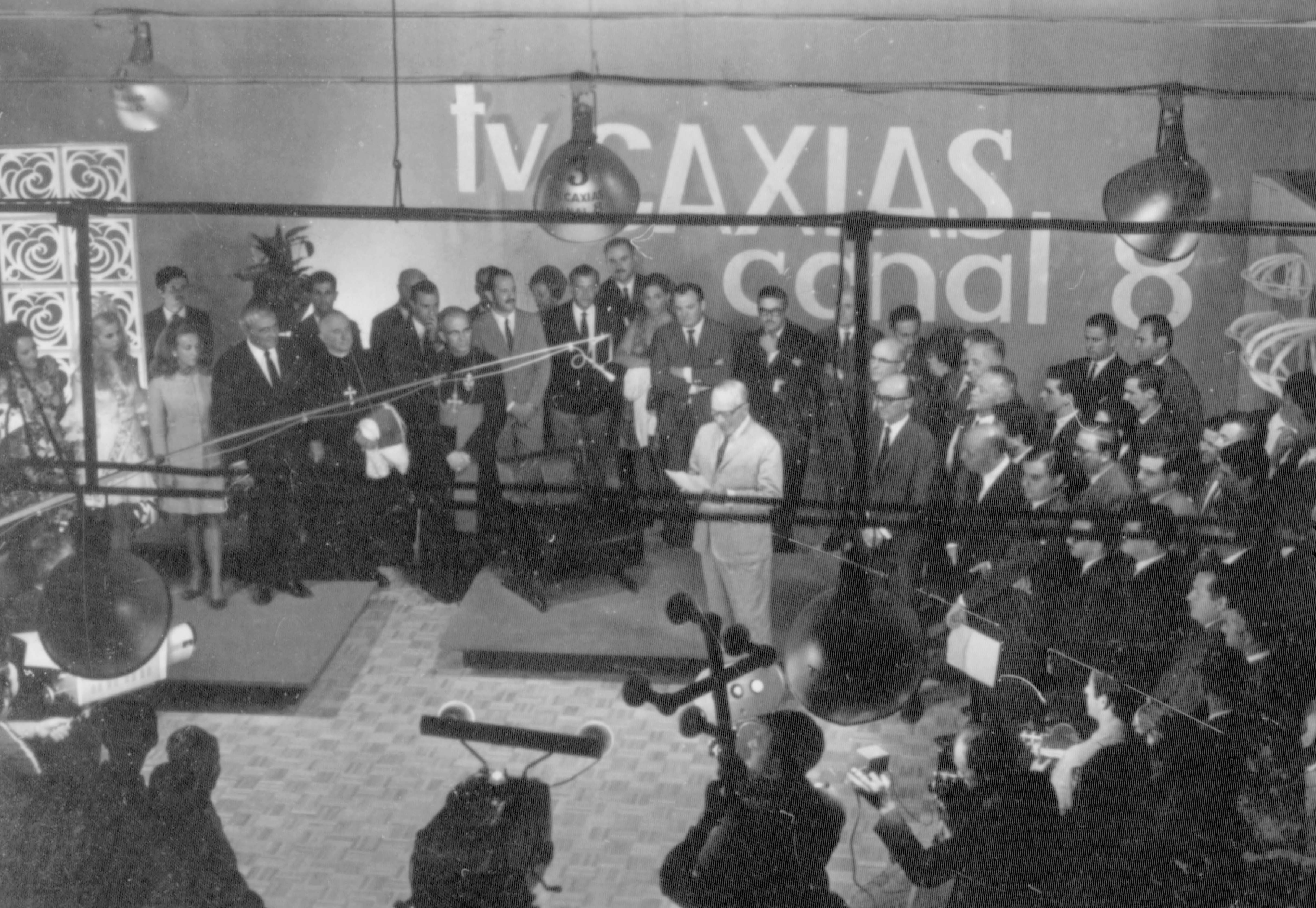 1969 - TV Caxias (now RBS TV Caxias) is inaugurated. It's the beginning of the Regional Network of Television (Rede Regional de Televisão).